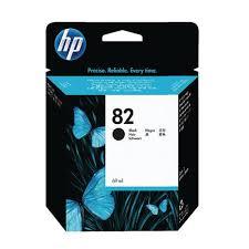 <b>HP 82 Black DesignJet</b> Ink Cartridge 69ml (Pack of 2) P2V34A