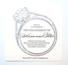 Engagement Invitation Templates Free Download Party Card