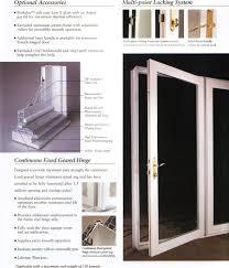 single hinged patio doors. Plain Patio French Patio Doors With Single Hinged E