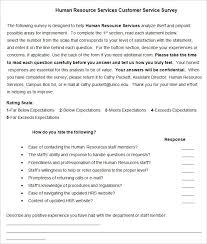 Sample Of Survey Form - Kleo.beachfix.co