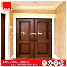 double entry doors no glass exterior design mahogany solid wood main double entry door for house double entry doors no glass
