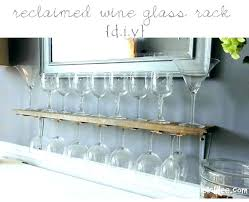 full size of wood wine glass holder plans under cabinet rack wooden shelf wall architectures engaging
