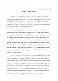 argumentative essay on gun control   Template FAMU Online Fast Food Essay  Argumentative Essay on Fast Food