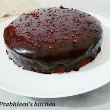 Eggless Chocolate Cake Recipe How To Make Eggless Chocolate Cake By