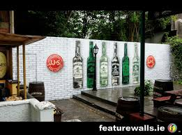 o connells beer garden eyre square galway graffiti can art mural hand painted by featurewalls