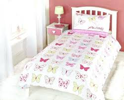 pink single bedding sets girls erfly fly up high duvet cover quilt bedding set single pink blue yellow white pink single duvet sets