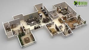 3d floor plan commercial concepts