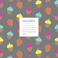 November 2020 desktop calendar ...