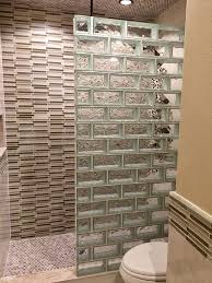 Houston Tx Bathroom Remodeling Delectable Glass Block For Your Bathroom Remodel Houston Glass Block