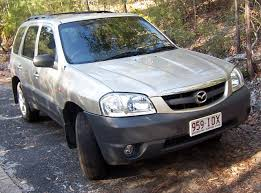 File:2005 Mazda Tribute (MY04) Limited Sport V6 wagon (2007-09-30 ...