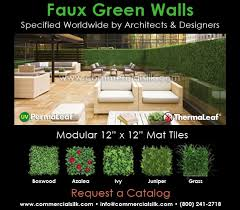 artificial wall panels artificial green walls