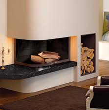 Living Room Corner Fireplace Decorating Contemporary Wood Burning Fireplace Home Design Ideas