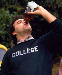 Animal House's John Belushi Drinking