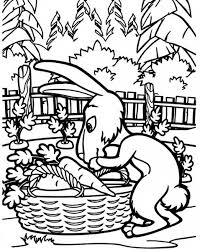 Disegni Da Colorare Gratis Coniglietto Amico Di Masha E Orso