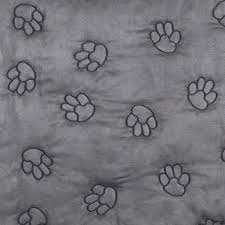 paw prints dog car seat cover