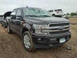 Salvage 2018 Ford F150 Platinum | Salvage PickUp Trucks | Ford ...