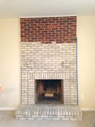 whitewashing fireplace bricks brick fireplace whitewash brick fireplace pros and cons whitewashing fireplace bricks