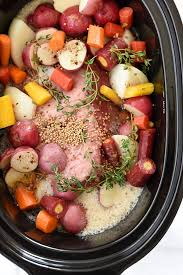 crockpot corned beef and cabbage or