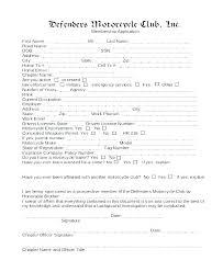 Club Membership Application Template Stagingusasport Info