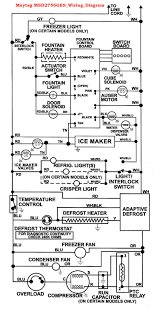 whirlpool 6wri24wk electrical circuit diagram beauteous schematic Whirlpool Defrost Timer Wiring Diagram whirlpool 6wri24wk electrical circuit diagram beauteous schematic wiring of a refrigerator Whirlpool Freezer Defrost Timer