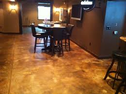 cool concrete floor finishes for your interior ideas elegant concrete floor finishes design with round
