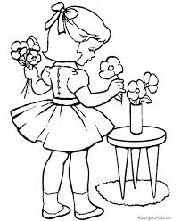 Small Picture Kindergarten Valentine Coloring Page 042