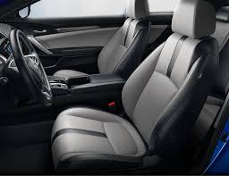2017 civic touring gray leather heated seats