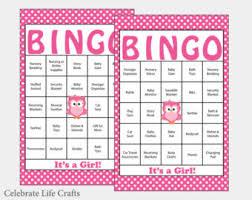 Blank Baby Shower Bingo Cards Mustache Theme PrintableBaby Shower Bingo Cards Printable