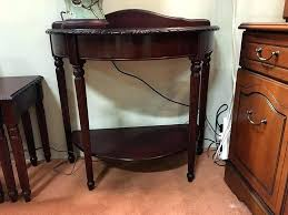 half round table plans round hall table half round hall table small hall table plans round half round table