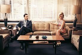 don draper office. Jon Hamm (who Plays Don Draper) And January Jones (Betty Francis) Of \ Draper Office E