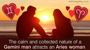 Aries Man And Gemini Woman Compatibility Chart Aries Woman And Gemini Man Compatibility