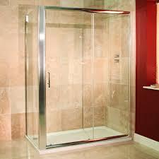 reversible 6mm 1200 x 900 sliding door shower enclosure