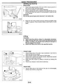 nissan forklift df05a 50, 60, 70; mf05a 50, 60; uf05a Nissan Forklift Manual nissan forklift df05a 50, 60, 70; mf05a 50,