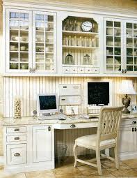 Kitchen Desk Area The Decorated House White Kitchen Inspiration 3 Home Office