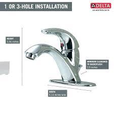delta single handle bathroom faucet delta single handle bathtub faucet repair 3 handle bathroom faucet delta