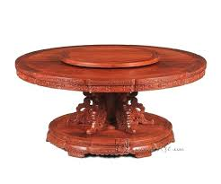 antique round table hotel high grade round table person seat big table rosewood dining desk new antique round table