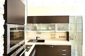 glass door upper kitchen cabinets with doors cabinet frosted for on both sides