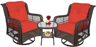 3 piece rocking chairs outdoor