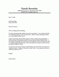Cover Letter Example Resume Cover Letter Example Download How To Write Teacher Resume Cover 7