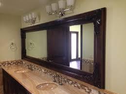wood mirror frame. Custom Mirrors Installed With Wood Frames Rancho Santa Fe Mirror Frame