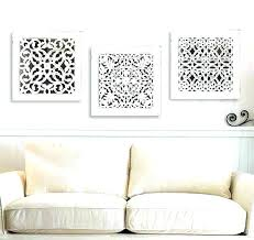 white wooden wall decor wood carved whitewashed art west elm lette whitewashed wall