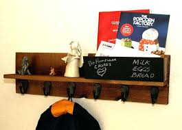chalkboard key holder wall mounted mail slots coat rack key rack shelf with mail holder organizer