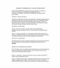 lease agreement sample 26 free commercial lease agreement templates template lab