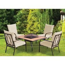 oristano piece fire pit garden garden table with fire pit 2018 hatton garden
