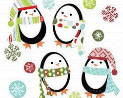 cute penguin christmas clipart. Contemporary Clipart Penguin Christmas Clipart Clip Art Digital Tree By PaperiePixel To Cute Penguin Christmas Clipart U