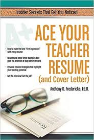 amazon cover letter ace your teacher resume and cover letter insider secrets