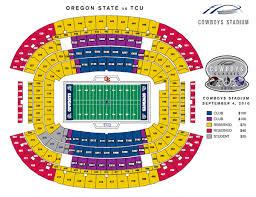 Tcu Football Seating Chart Matter Of Fact Oregon State Stadium Seating Chart Oregon