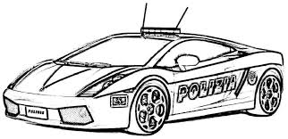 Small Picture Colouring Pages Of Police Cars