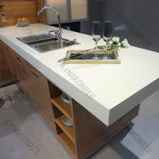 corian kitchen top: anti pollution artificial marble corian acrylic solid surface kitchen countertop