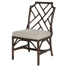 chippendale side chair. Candelabra Home Palm Beach Chippendale Side Chair - Mahogany